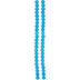 Blue Round Cracked Glass Bead Strands - 8mm