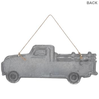 Galvanized Truck Metal Wall Decor
