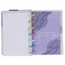 Soft Modern Geode Mini Happy Notes Notebook