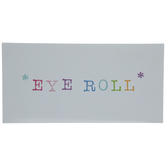 Eye Roll Wood Wall Decor