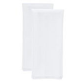 White Waffle Kitchen Towels