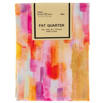 Rainbow Painting Fat Quarter