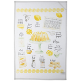 Lemon Pound Cake Kitchen Towel