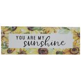You Are My Sunshine Wood Wall Decor
