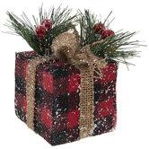 Buffalo Check Gift Ornaments
