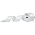 Ivory Pearl & Satin Wired Edge Ribbon - 2 1/2
