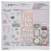 "Wedding Scrapbook Kit - 12"" x 12"""