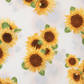 Sunflowers Knit Fabric