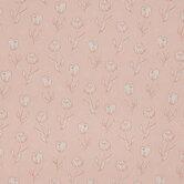 Blush Tulip Cotton Calico Fabric