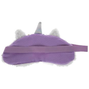 White Faux Fur Unicorn Sleep Mask