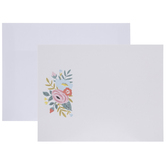 Pink & Blue Foral Cards - A2