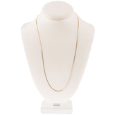 """18K Gold Plated Slide-A-Bead Chains - 24"""""""