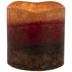 Tuscan Sunset Pillar LED Candle