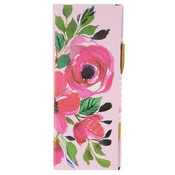 Floral Notepads & Pencil