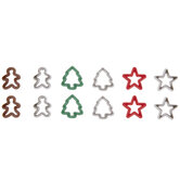 Christmas Cookie Cutter Embellishments