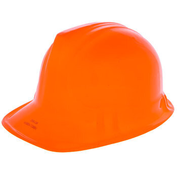 Orange Construction Hat
