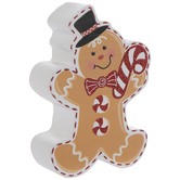 Gingerbread Boy Place Card Holder