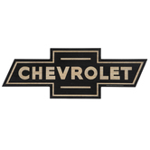 Chevrolet Logo Wood Wall Decor