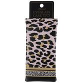 Pink & Gold Leopard Print Eyeglass Case