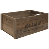 Wood Pallet Crate