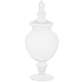 Pedestal Glass Jar