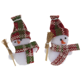 Snowman Pom Poms