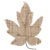 Burlap Maple Leaves