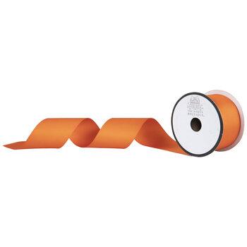 "Orange Matte Grosgrain Ribbon - 2"""
