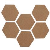 Hexagon Corkboard Adhesive Wall Art