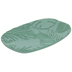 Green Palm Leaves Jewelry Dish