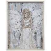 Angel & Baby Wood Wall Decor