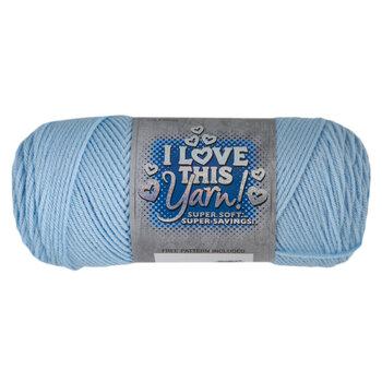 Soft Blue I Love This Yarn