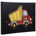 Red & Yellow Dump Truck Canvas Wall Decor