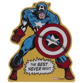 Captain America Wood Decor