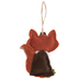 Fox Give Thanks Ornament