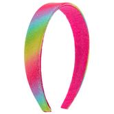 Rainbow Glitter Headband