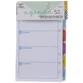 Floral Non-Dated Planner Inserts - 12 Months