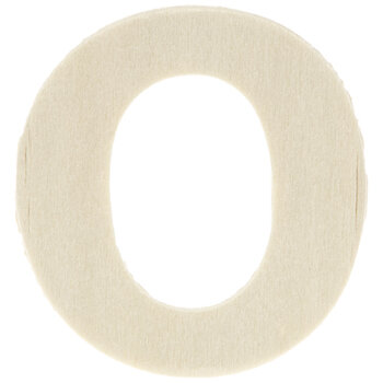 """Wood Letters O - 1 3/4"""""""