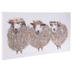 Sheep Trio Canvas Wall Decor