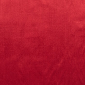 Red Poly Satin Fabric