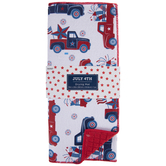 4th Of July Vintage Trucks Drying Mat
