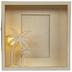 Light Up Palm Tree Wood Frame - 4