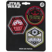 Star Wars Mos Eisley Port Authority Iron-On Appliques
