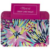 Bright Floral Credit Card Holder