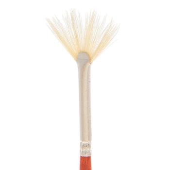 Natural Hog Bristle Fan Paint Brush