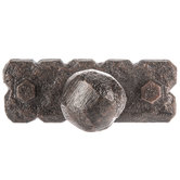 Hammered Metal Knob