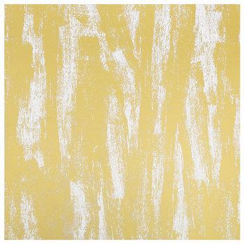 "Gold Brush Texture Foil Scrapbook Paper - 12"" x 12"""