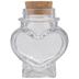 Heart Glass Jar