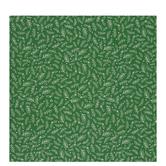 Green & White Holly Gift Wrap