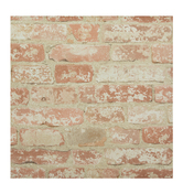 Stucco Brick Wallpaper Vinyl Wall Art